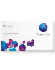 Soczewki Biofinity 6 szt. - soczewki całodobowe