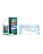 Acuvue Oasys 6 szt. + Opti-Free Express 355 ml