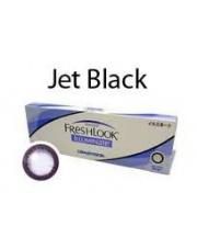 Freshlook Illuminate BLACK 1-Day 10 szt. - powiększ swoje oczy!