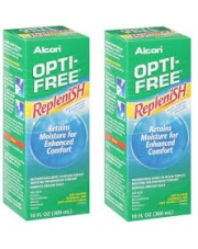 Zestaw: Opti-Free Replenish 2x300 ml