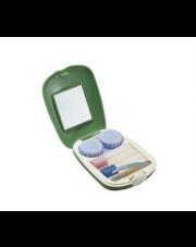 Zielona kosmetyczka - zestaw podróżny