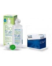 Pure Vision 6 szt. + Biotrue 300 ml