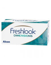 Freshlook Dimensions 2 szt., moc: 0,00 (PLAN)