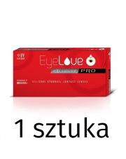 Soczewka testowa: EyeLove Exclusive PRO 1 sztuka