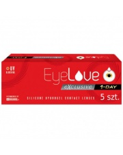 EyeLove Exclusive 1-Day Testowe 5 szt.
