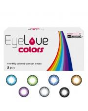 EyeLove Colors 2 szt. moc: 0,00 (PLAN) - soczewki kolorowe